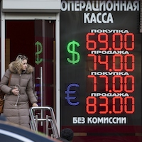 What helped Russia's economy survive in 2015?