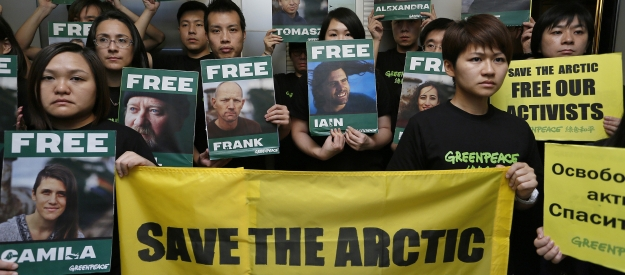 Greenpeace in the Arctic: No bridge over these troubled waters