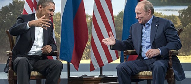 Putin and Obama search for a positive agenda