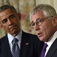 Dismissing Hagel won't dismiss cloud hanging over US-Russian relations