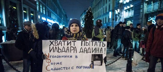 The Russian protest movement, still without a real leader