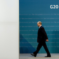 Putin's early exit from G20 does not bode well for Russia on world stage